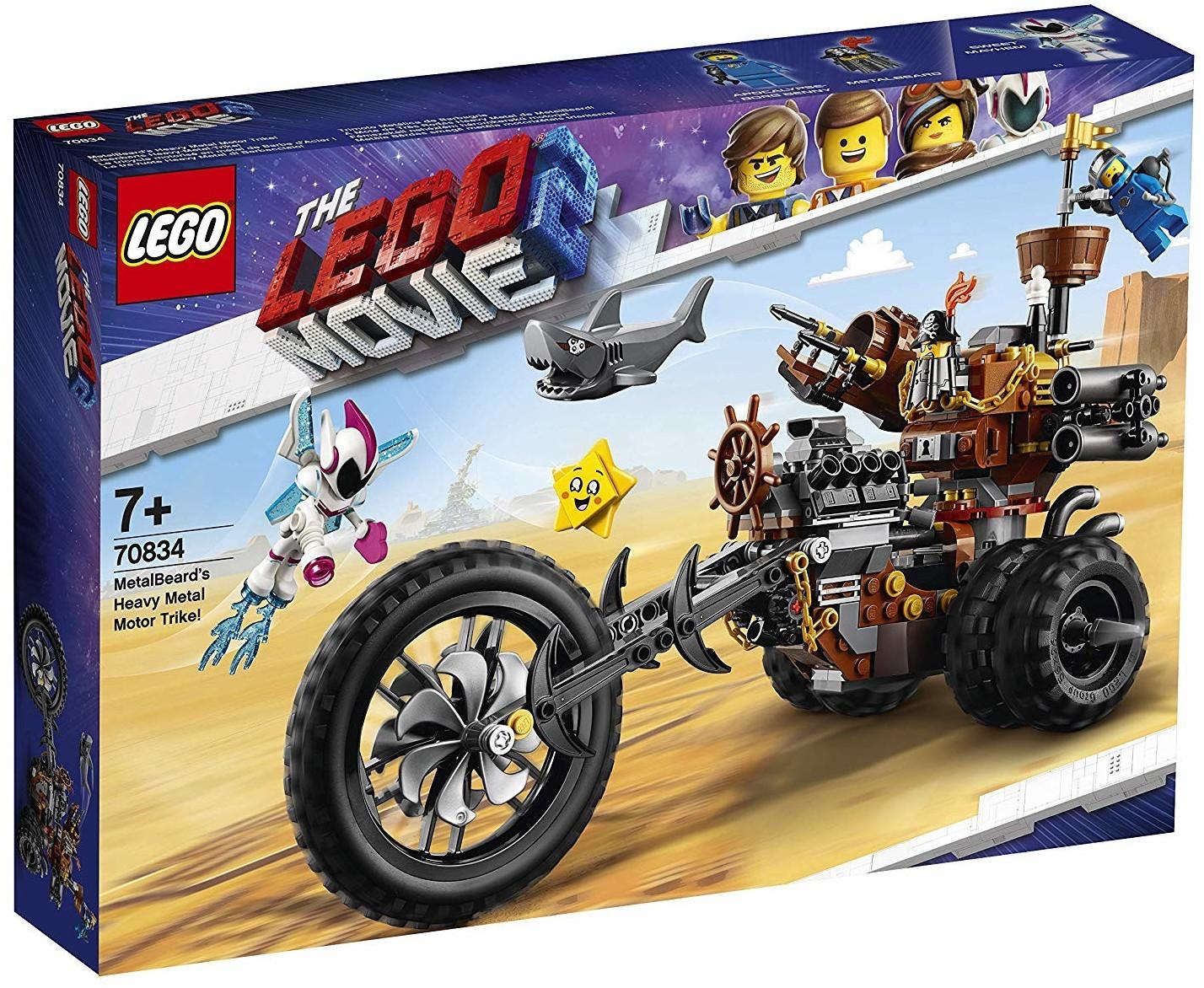 LEGO The Movie 2 - EisenBarts Heavy-Metal-Trike! (70834)