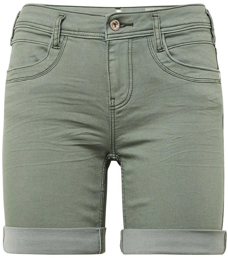 Tom Tailor Alexa Slim Shorts (1008794) pale bark green