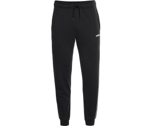 Adidas Essentials 3 Stripes Tapered Cuffed Pants blackwhite