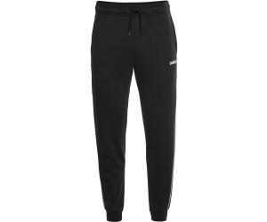 Adidas Essentials 3 Stripes Tapered Cuffed Pants blackwhite