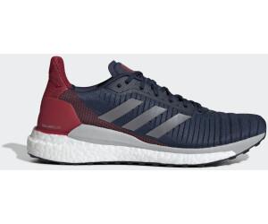Grey Black Hi Res Red adidas Solar Glide M, Scarpe Running