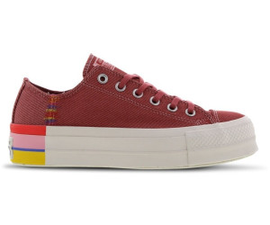 Converse Chuck Taylor All Star Rainbow Platform Low Top ab