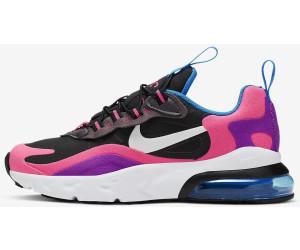 Nike Air Max 270 React Kids blackhyper pinkvivid purple