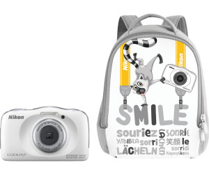 Nikon Coolpix W150 Rucksack Kit weiß