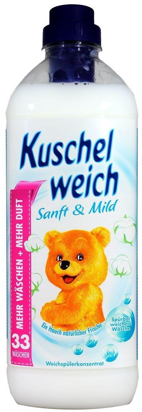 Kuschelweich Sanft & Mild Weichspüler (34 WL)