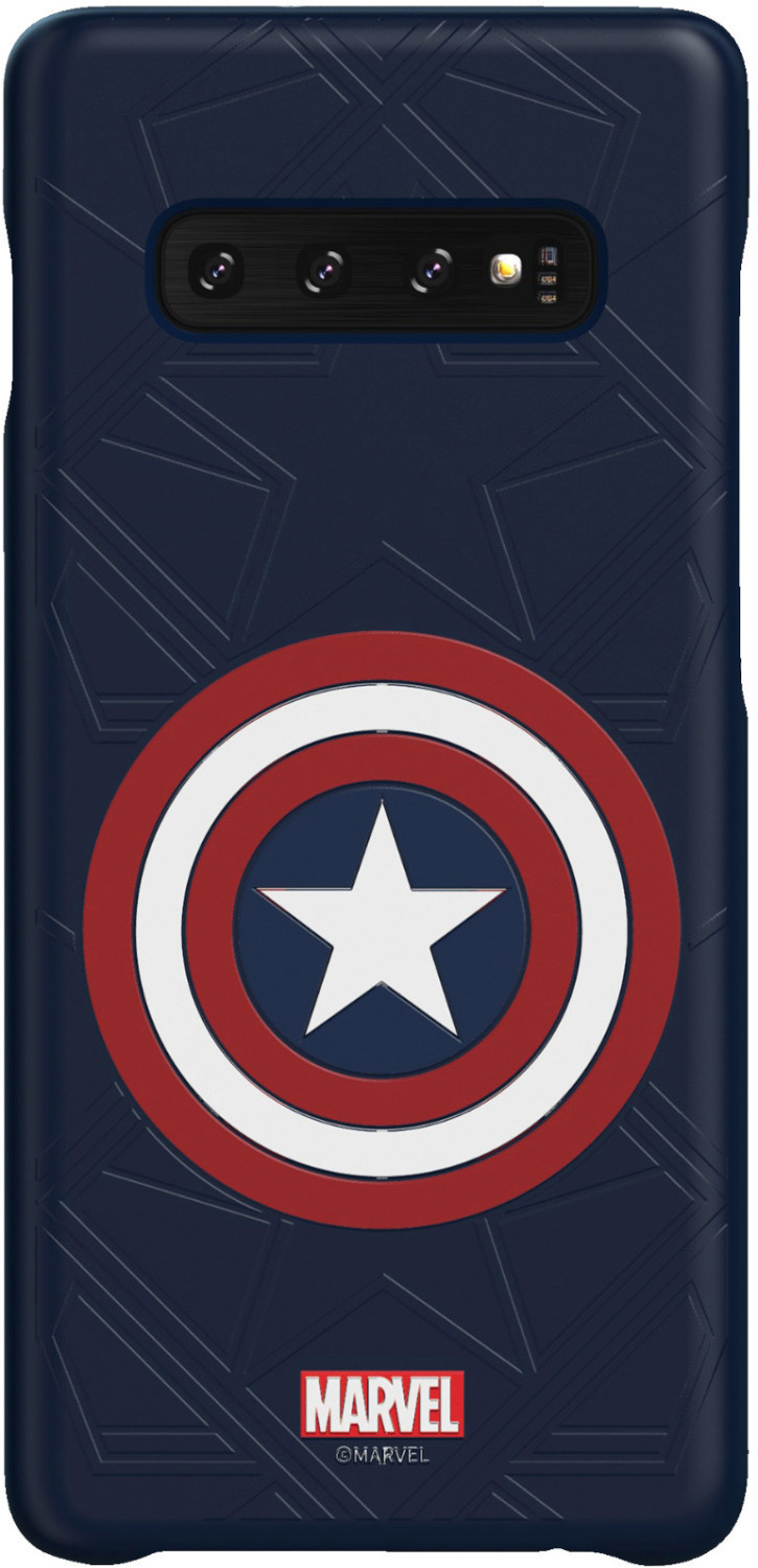 Image of Samsung Galaxy Friends Cover (Galaxy S10 Plus) Marvel's Captain America