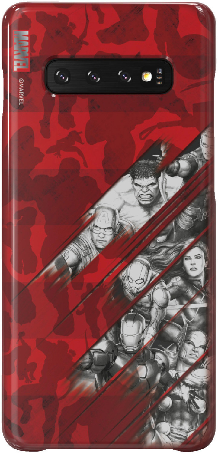 Image of Samsung Galaxy Friends Cover (Galaxy S10 Plus) Marvel's Avengers Comics