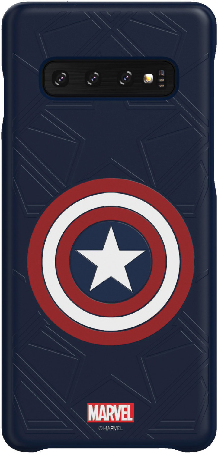Image of Samsung Galaxy Friends Cover (Galaxy S10) Marvel's Captain America