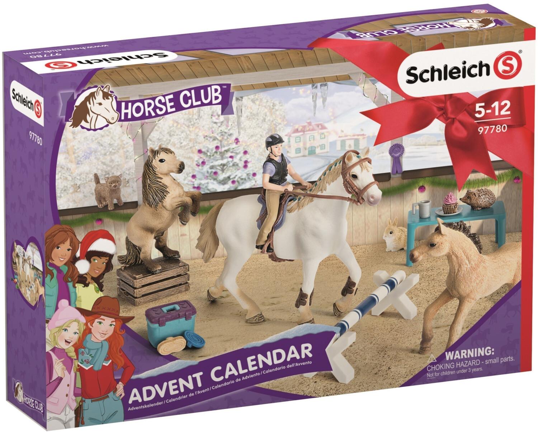 Calendrier De Lavent Schleich 2021 Schleich Calendrier de l'Avent Horse Club au meilleur prix