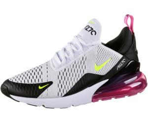 Buy Nike Air Max 270 whitevoltblacklaser fuchsia from