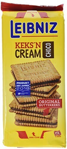 Bahlsen Keks'n Cream Choco (228g)