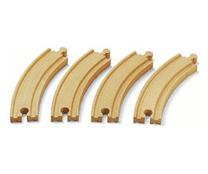 Image of Brio 1/1 Curved Tracks (33342)