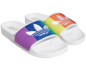 Adidas Pride Adilette cloud white/orange/scarlet ab 36,99 ...