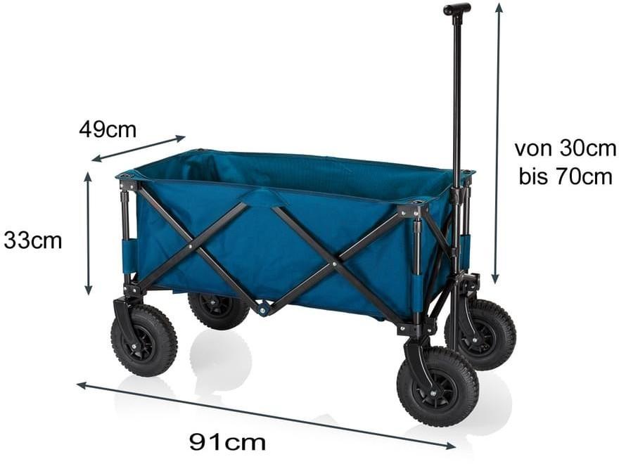 Tristar Klappbollerwagen mit Luftreifen