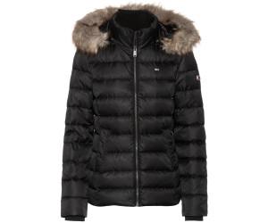 neueste art erstklassige Qualität retro Tommy Hilfiger Essential Hooded Down Jacket black ...