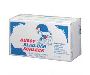Bussy Blau-Bär Schleck 200 Stück