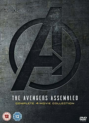 Image of Avengers 1-4 Complete Boxset [DVD] [2019]