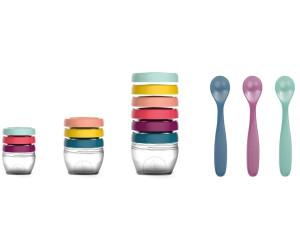 Babymoov Babybols Aufbewahrungsbehälter für Babynahrung Multi-Set 15-teilig