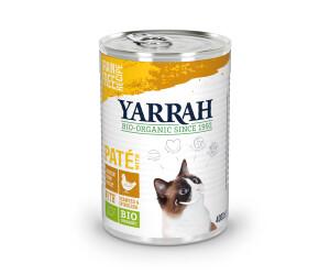 Yarrah Bio-Katzenfutter Pastete mit Huhn 400g