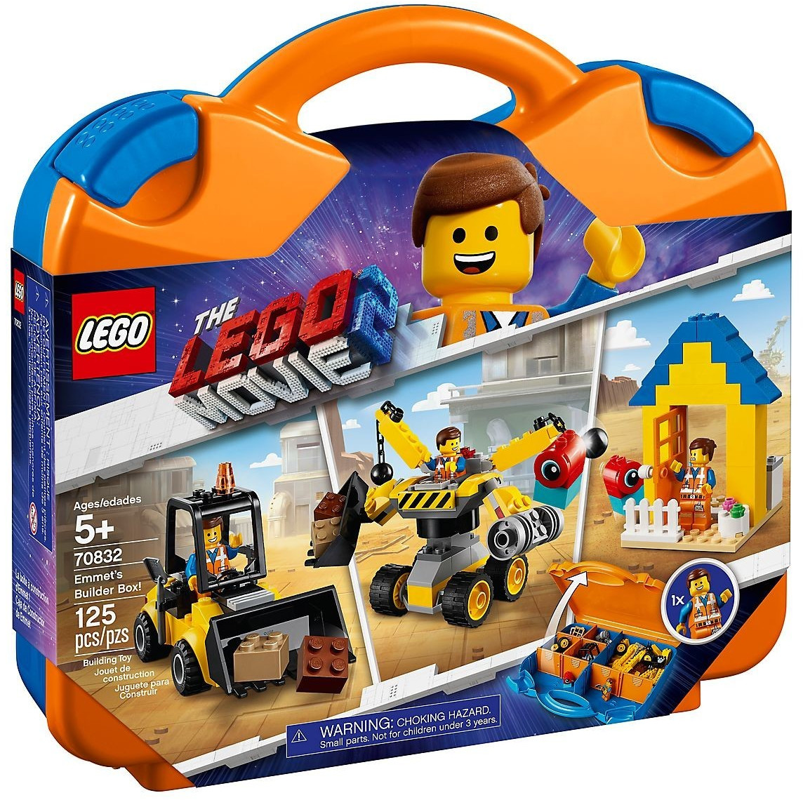 LEGO The Lego Movie 2 - La boîte à construction d'Emmet ! (70832)