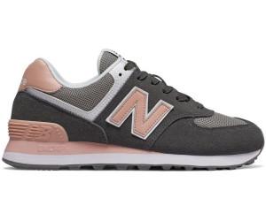 new balance 574 grigio rosa