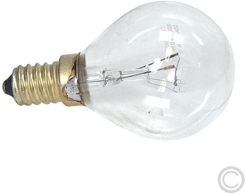EGB Backofenlampe E14 40W klar