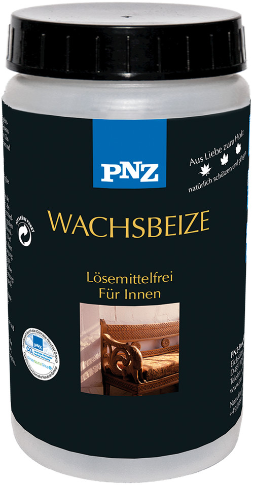 PNZ Wachsbeize: zitronengelb - 0,5 Liter