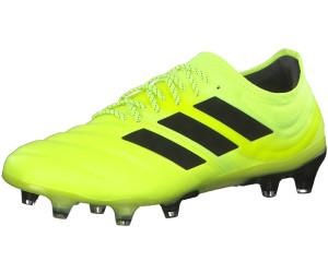 adidas Copa 19.1 FG Herren Fussballschuhe 43 1/3 EU Core Black / Solar Yellow / Core Black