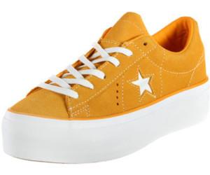 Buy Converse One Star Platform field orangewhitewhite from