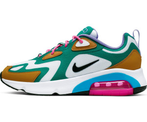 Nike Air Max 200 Women mystic green/gold suede/light current ...