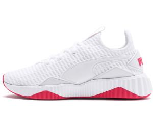 Puma Defy White/Pink Alert from £55.45
