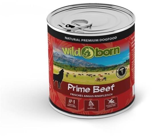 Wildborn Prime Beef Nassfutter mit Angus Rind