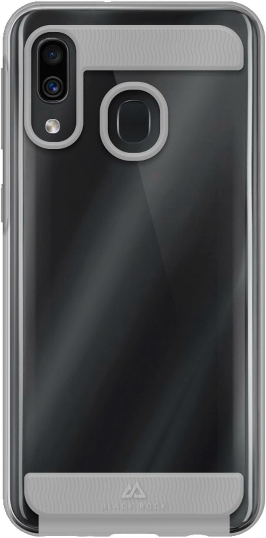 #Black Rock Air Robust Case (Galaxy A40) Transparent#
