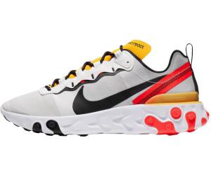 Nike React Element 55 whiteblackbright crimson au meilleur