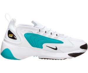 2019 Nike Zoom 2K2000 White Aqua WhiteBlackTeal Nebula