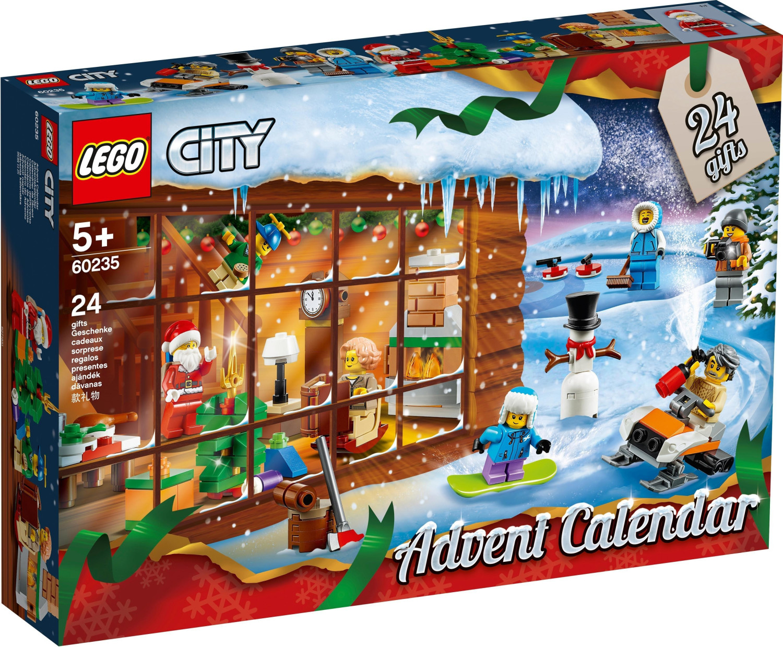 LEGO City - Calendrier de l'Avent 2019 (60235)
