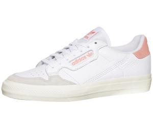 adidas originals – continental 80 vulc – sneaker in weiß und rosa