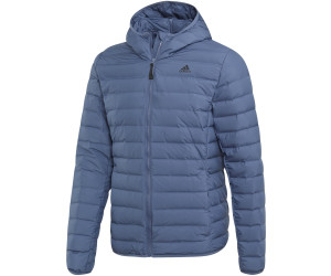 Details about Adidas Performance Men's down Jacket Varilite Soft 3S Soft Hooded Tech Ink