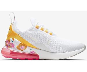 Sneaker   Damen Nike AIR MAX 270 WhiteSummit WhiteMetallic SilverLaser OrangeHyper Pink ⋆ AZ Heermann
