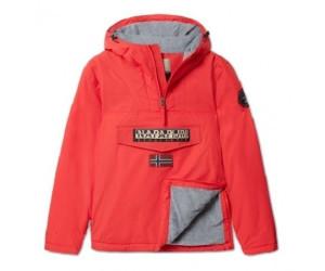 Dark Grey Solid 198 Napapijri Men/'s Rainforest Pocket Jacket Grey L .