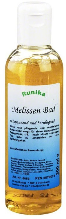 Runika Melissen-Bad (200ml)