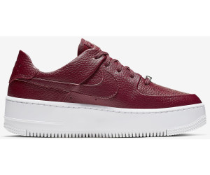 Nike Air Force 1 Sage Low Women team red/noble red/team red ...