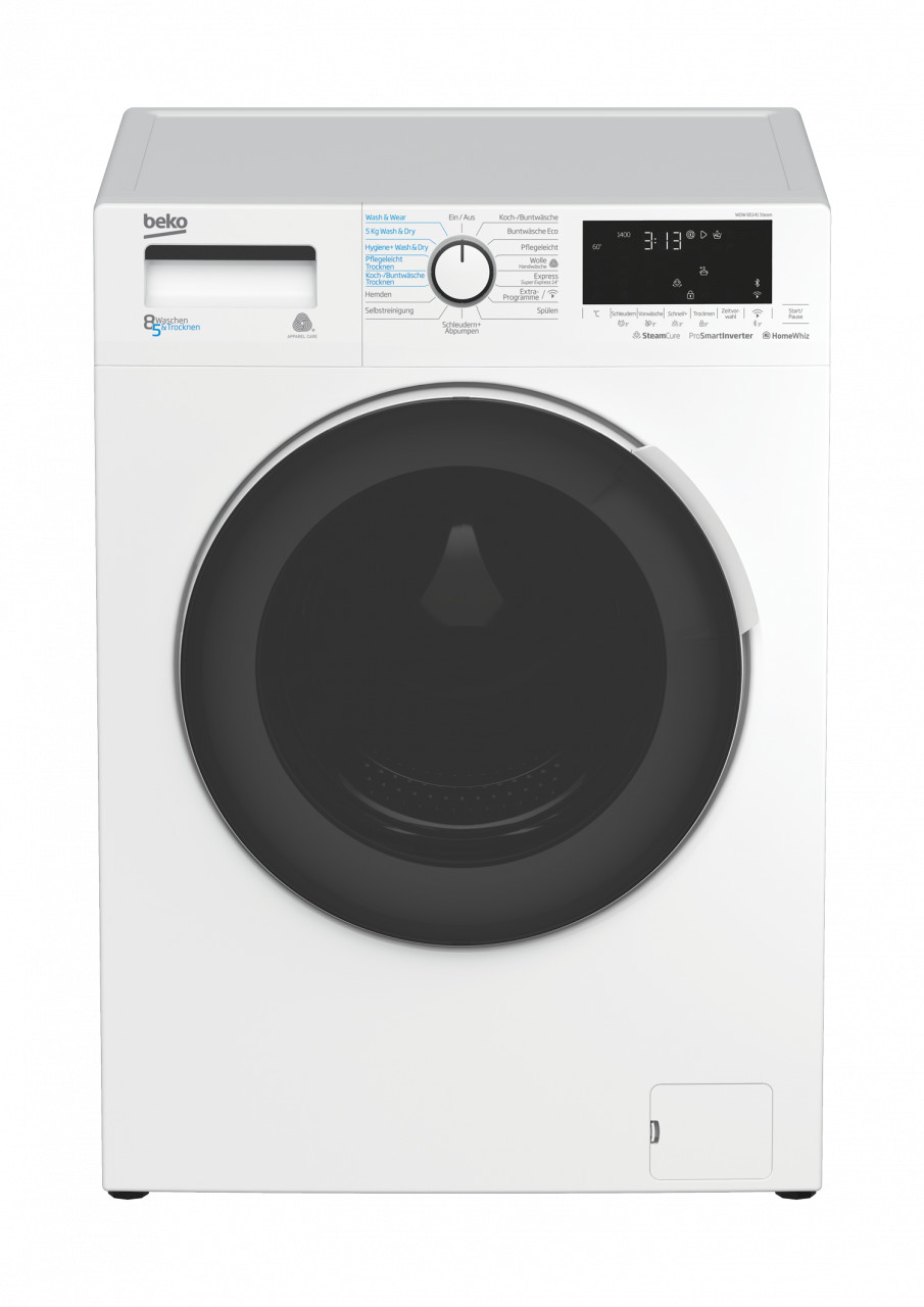 Beko WDW 85141 Steam
