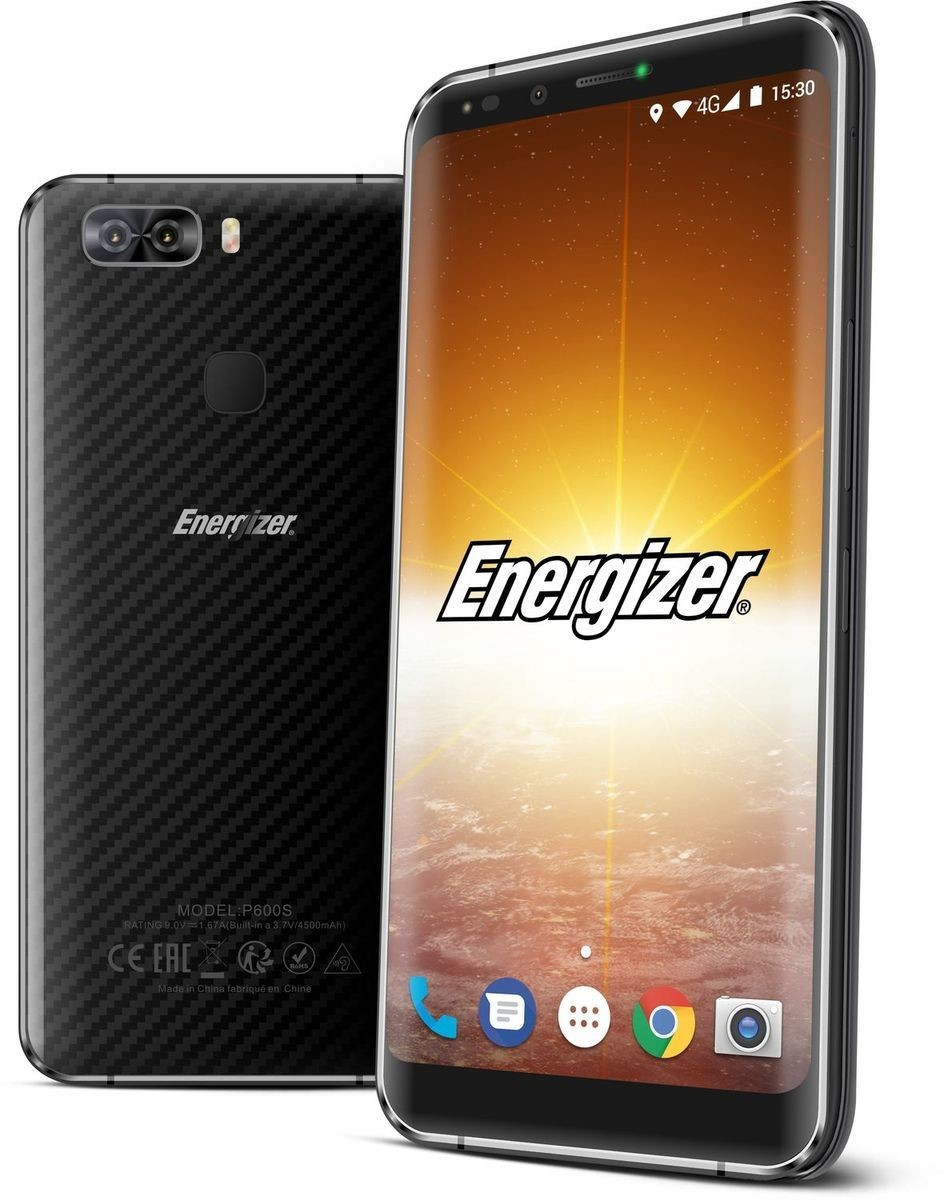Image of Energizer Power Max P600S Black Carbon
