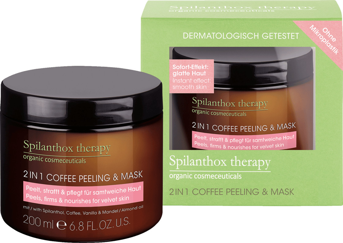 Spilanthox therapy Peeling & Mask 2in1 Coffee (200ml)