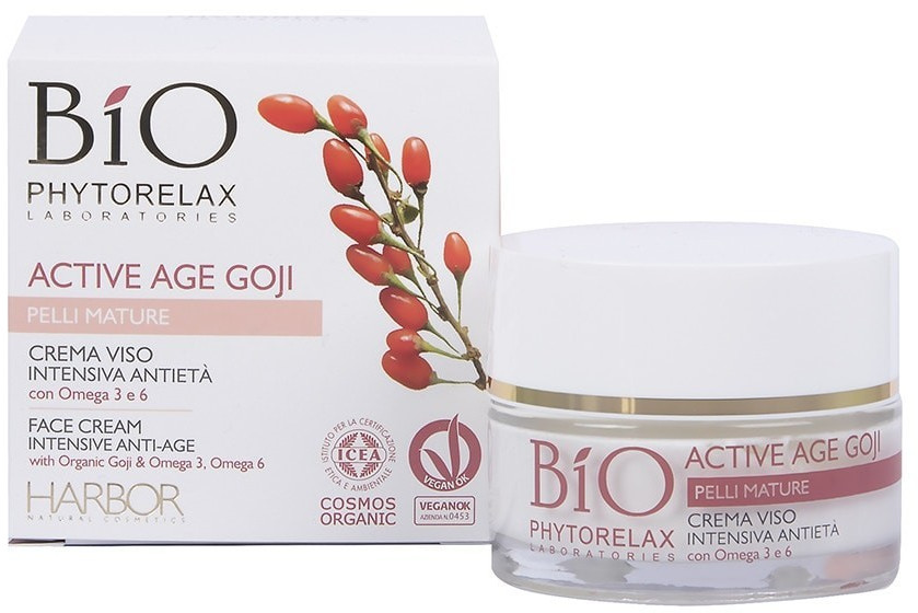 Phytorelax Active Age Goji - face Cream Intensive Antiage