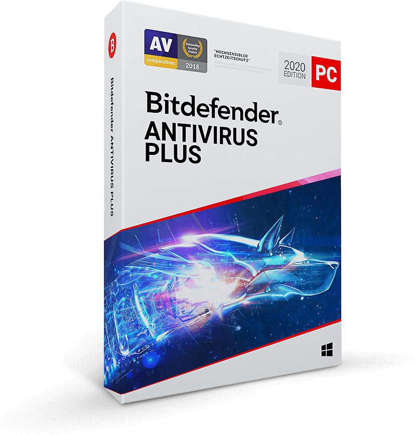 Image of Bitdefender Antivirus Plus 2020 (3 Devices) (3 Years)