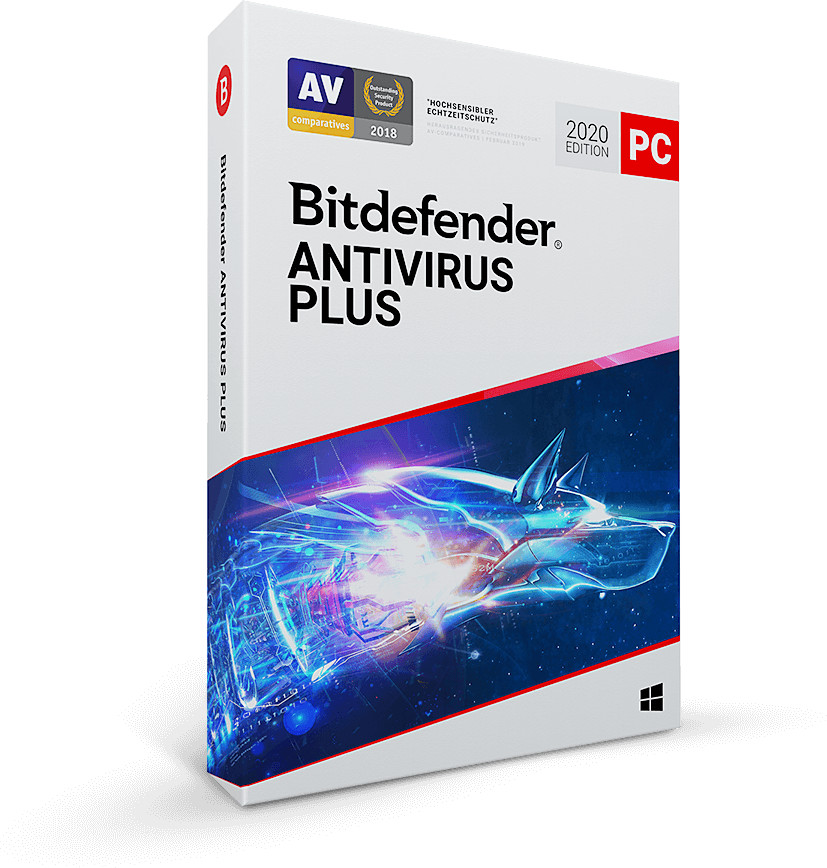 Image of Bitdefender Antivirus Plus 2020 (1 Device) (1 Year)