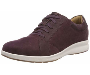 Buy Clarks Un Adorn Lace aubergine from