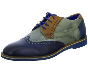 Bugatti Bottes Cuir Boots Chaussures Hommes Hiver Chaussures Bleu u6556-3 40-46 neu6